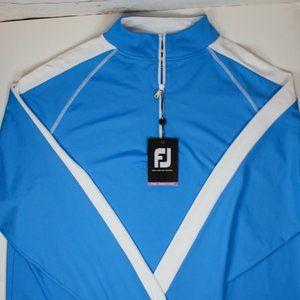 FootJoy Performance Half Zip Pullover FJ Blue XXL